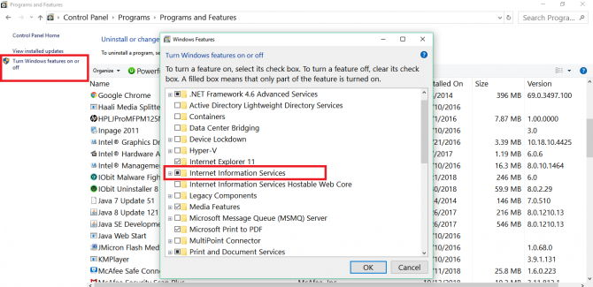 5 Ways To Check Installed Version of IIS in Windows 11
