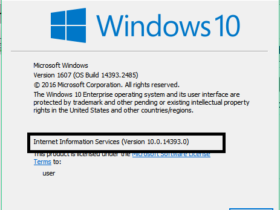 5 Ways To Check Installed Version of IIS in Windows 1