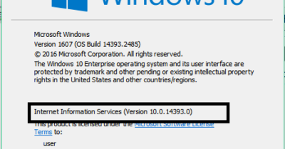 5 Ways To Check Installed Version of IIS in Windows 23