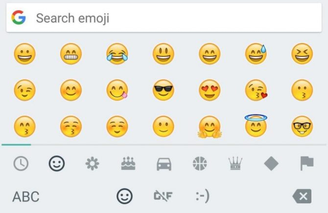 Smileys - iPhone emojis for Android