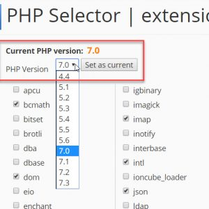 Fix Unable to Change PHP Version on cPanel