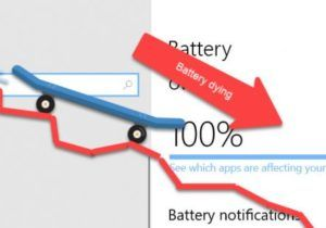 battery dying