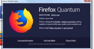 Check if Firefox is up to date