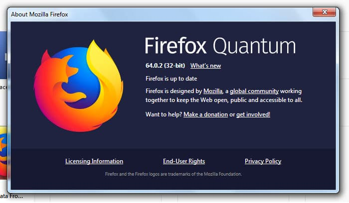 Check What Version Of Firefox Do You Have Installed On Your System