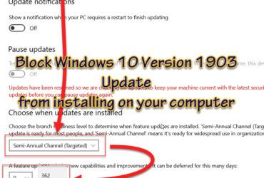 Defer Windows 10 feature updates featured