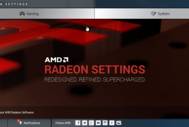 AMD Radeon Settings