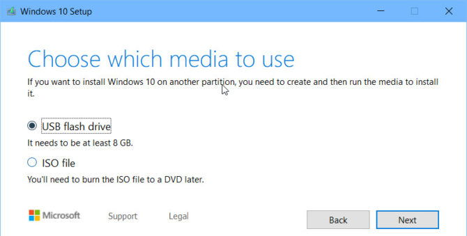 Windows 10 Media Creation Tool For Version 1903