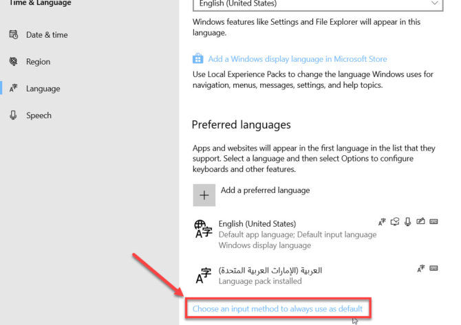 How To Change The Display Language In Windows 10