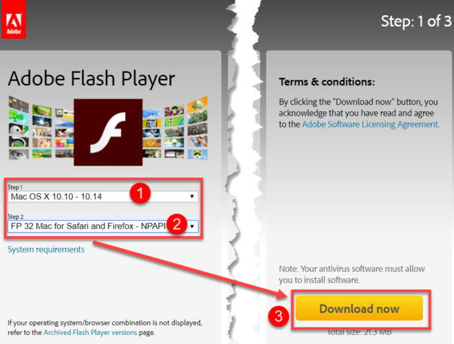 Download Latest Adobe Flash Player Offline Installers For