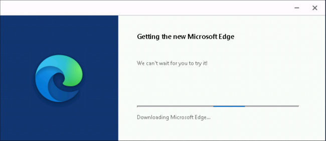 Getting Microsoft Edge