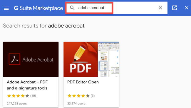 Integrate Adobe Acrobat With Google Drive