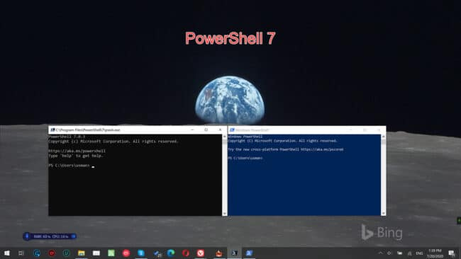 PowerShell 7 featured