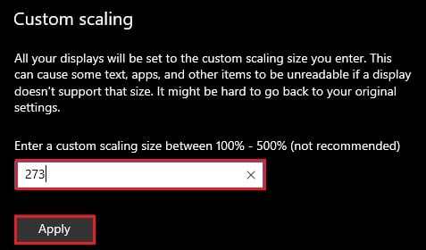 advanced scaling 2