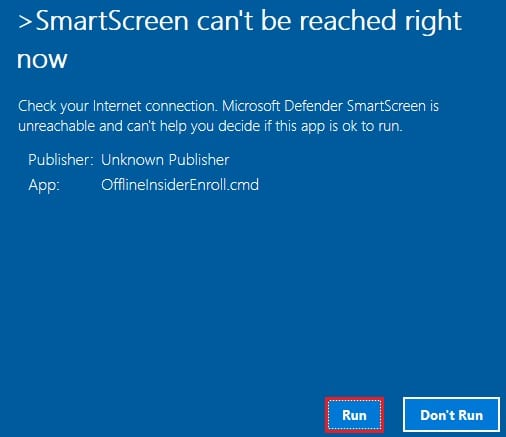 smartscreen defender