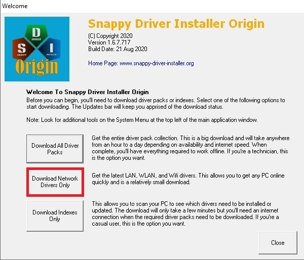snappy download driver packs 1