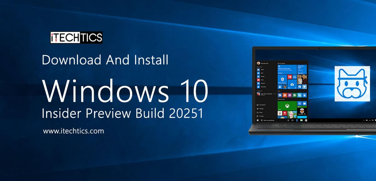 Download And Install Windows 10 Insider Preview Build 20251