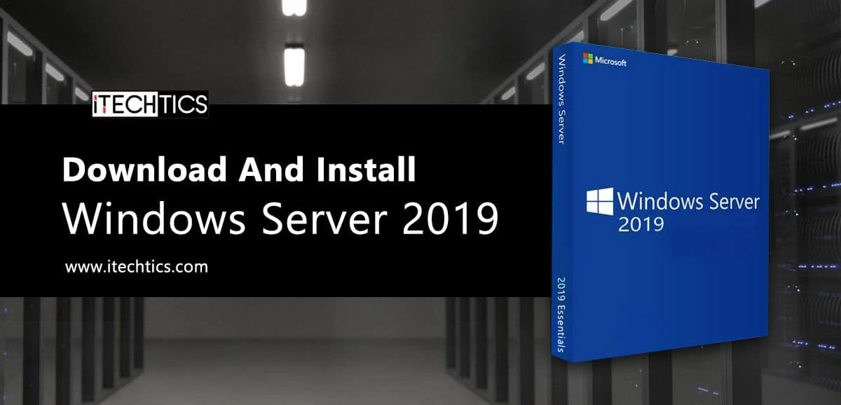 Download And Install Windows Server 2019