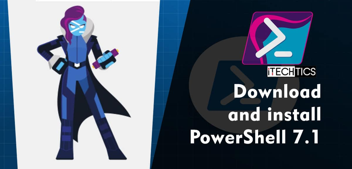 Download and install PowerShell 7 1