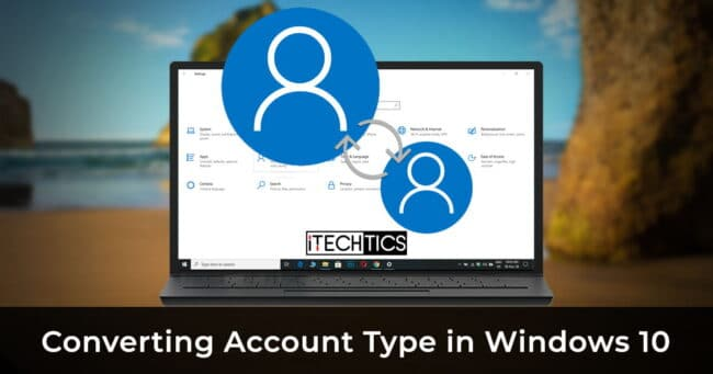 Convert account type to Microsoft or local in Windows 10