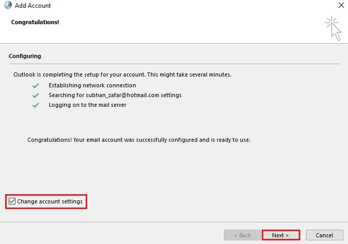 How to Change OST File Location In Microsoft Outlook (Without resync) 6