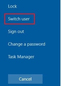 3 Ways to Disable Fast User Switching in Windows 10 4
