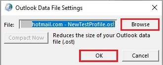 How to Change OST File Location In Microsoft Outlook (Without resync) 9