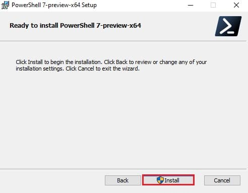 Download and install PowerShell 7.2 Preview 2 for Windows 10 4