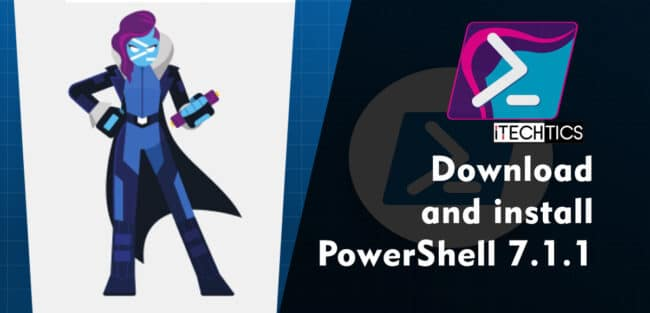 Download and install PowerShell 7 1 1