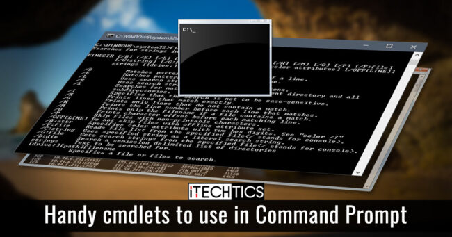 Handy cmdlets to use in Command Prompt