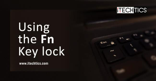 Using the Fn Key lock