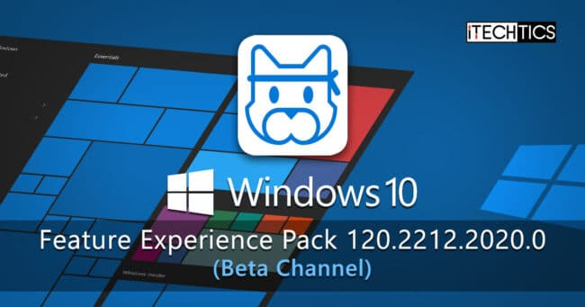 Windows 10 Feature Experience Pack 120 2212 2020 0