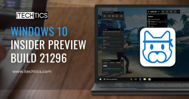 Windows 10 Insider Preview Build 21296