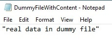 text file with context