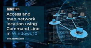 Access and map network location using Command Line in Windows 10
