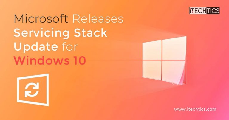 Microsoft Releases Servicing Stack Update for Windows 10 KB4601382