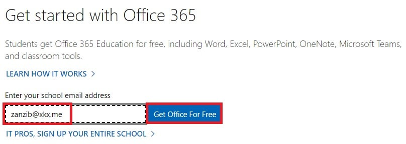 get office for free