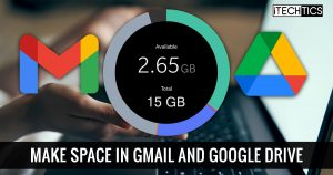 How To Free Up Space In Gmail And Google Drive