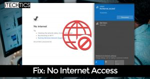 How to Fix Connected Wi-Fi But No Internet Access