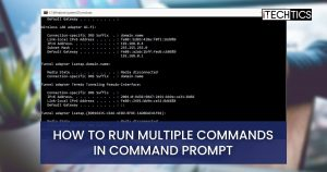 2 Ways To Run Multiple Commands In CMD