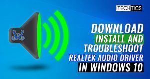 How to Download and Install Realtek HD Audio Manager And Driver for Windows 10