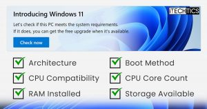 How To Check All Requirements For Windows 11
