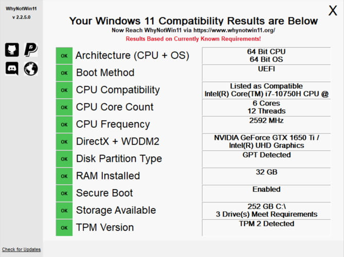 How To Check All Requirements For Windows 11 2