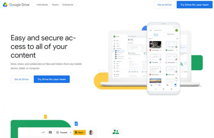 Best Free Cloud Storage Providers With Large Space 5