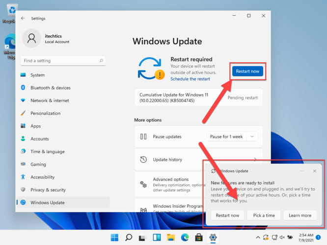 Windows 11 Build 22000.65 Improves Taskbar and Search Experience 4