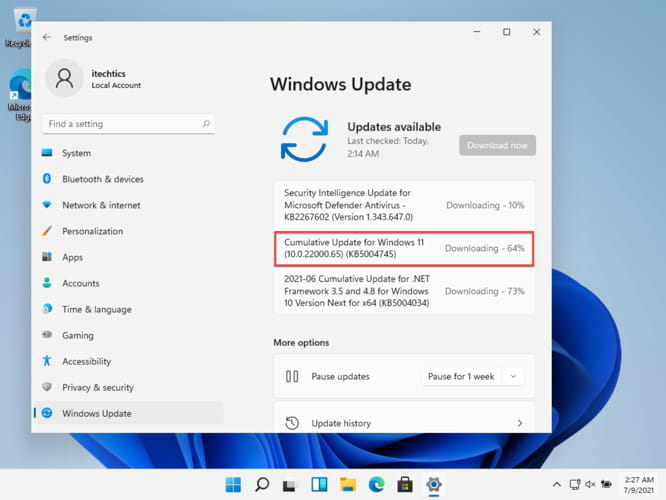 Windows 11 Build 22000.65 Improves Taskbar and Search Experience 3