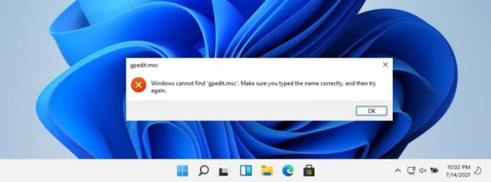 How To Enable Group Policy Editor (Gpedit.msc) in Windows 11 Home 1