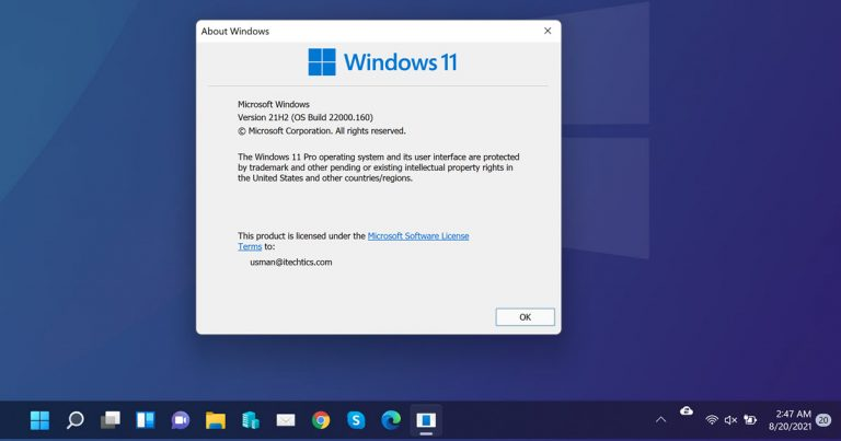 Download Windows 11 Build 22000.160 ISO (KB5005189) With Focus Sessions 3