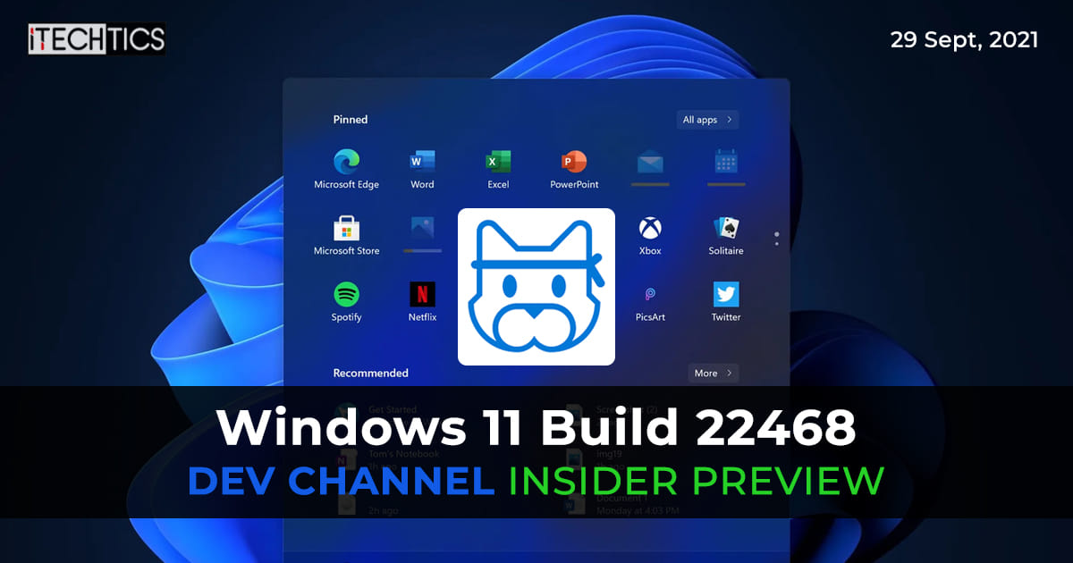 Windows 11 Insider Preview Build 22468