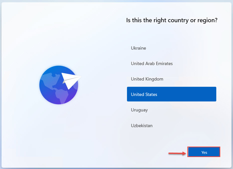 install country